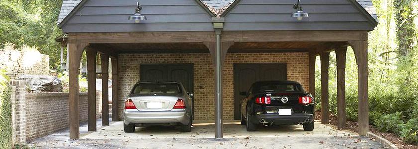 Автомобиль на даче: гараж, навес или место для стоянки