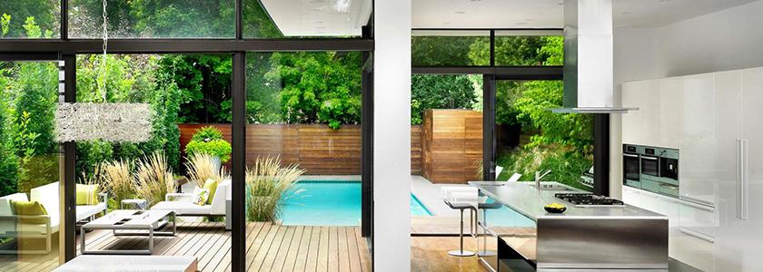 Как использовать все достоинства стекла в дизайне вашего дома. Рекомендации специалистов