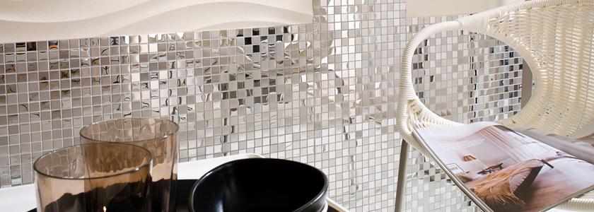 Металлическая мозаика. Интересные решения для интерьера