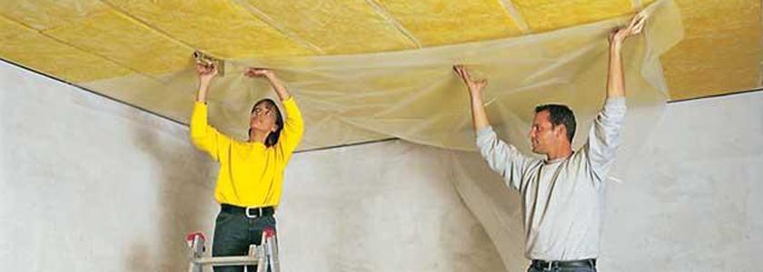 Звукоизоляция потолка. Решение для невысоких потолков от пользователей FORUMHOUSE