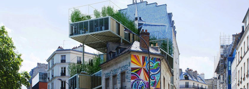 Квартира на крыше, или доступное жильё из Франции