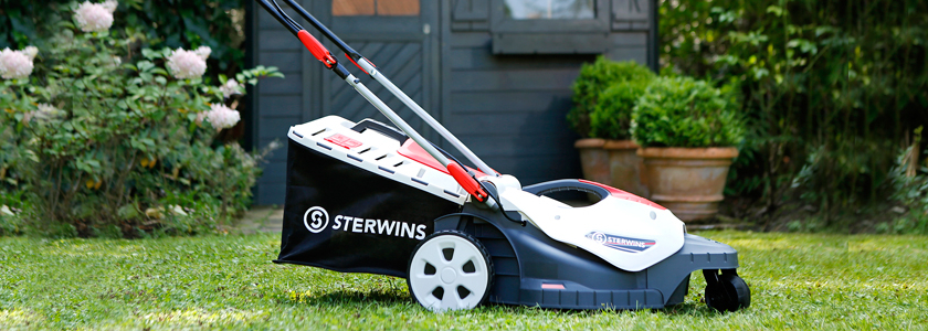 Новая газонокосилка Sterwins от Leroy Merlin