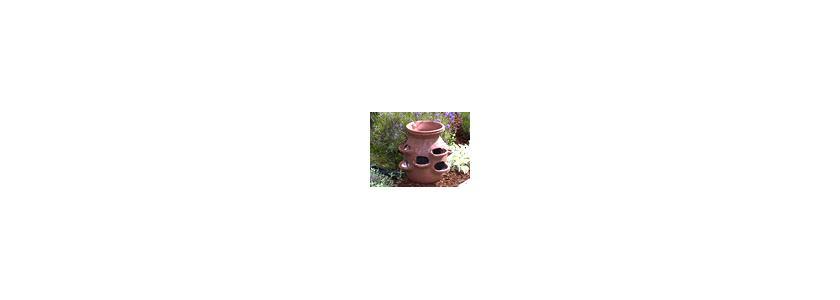 «Старинный» садовый вазон