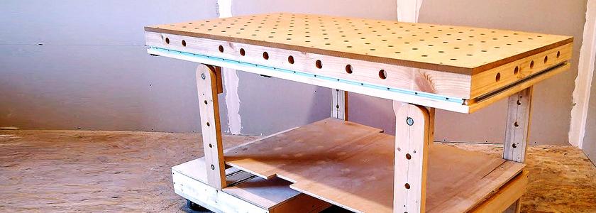 Изготовление верстака-монтажного стола своими руками