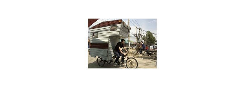 Дом на велосипеде: вся жизнь – в движении