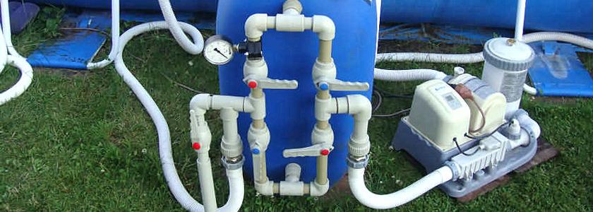 Система обезжелезивания воды на основе самодельного аэратора