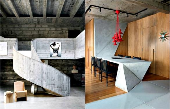 купить мебель из бетона
