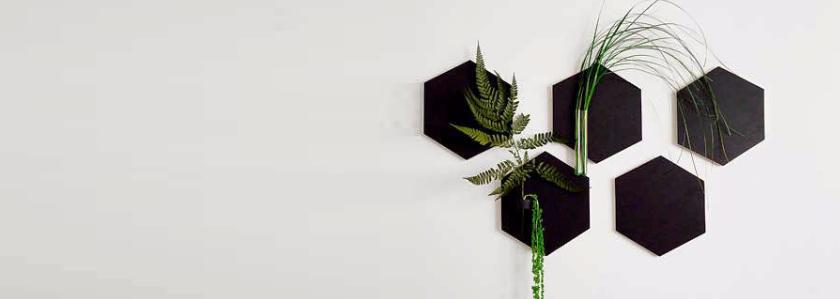 «Живые» настенные вазы: рукодельницам на заметку