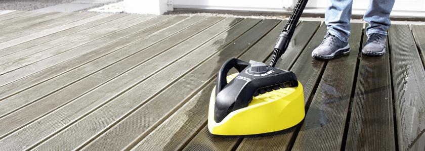Чистим все поверхности без брызг с новой серией моек Kärcher Compact Home и насадкой T-Racer!