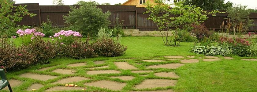 Каменные садовые дорожки: как преобразить двор эффектно и надолго