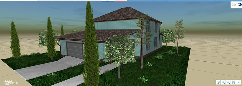 Проект будущего дома с помощью программы «Альта-Планер»