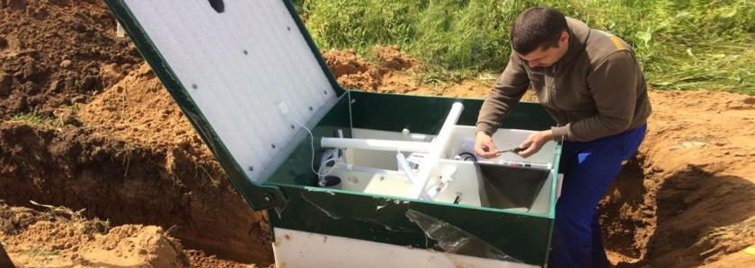Аэрационные установки: размещение на участке, монтаж, отведение воды на рельеф