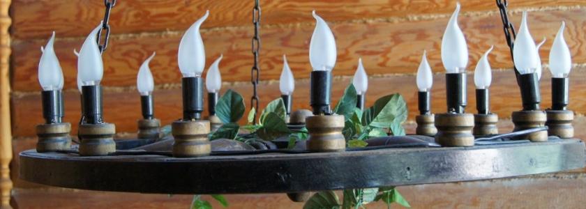 Декоративные подвесные люстры и бра: сделай сам, а не покупай