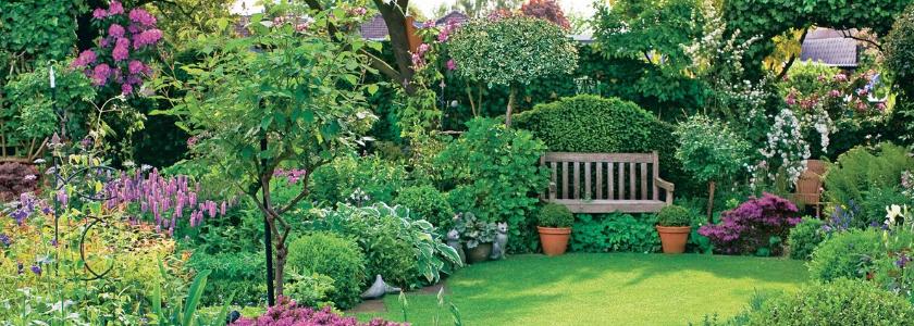 Оформление сада своими руками: как превратить огород в райский уголок