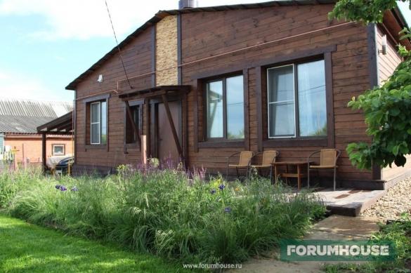 Фото построенный дом