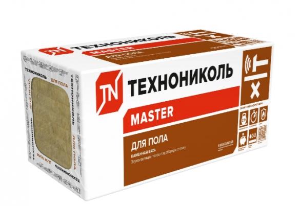 Фото упаковка плит каменной ваты ТехноНиколь для шумоизоляции пола под стяжку
