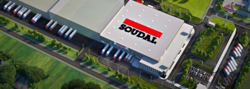 SOUDAL запускает строительство завода — первого в Российской Федерации и 20-ого в мире