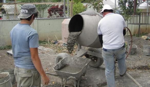 Бетон самомес рецепт лабиринт бетон