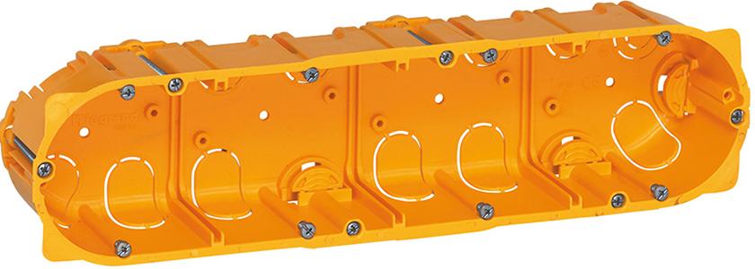 Монтажные коробки для электроустановочных устройств: скрытая электропроводка