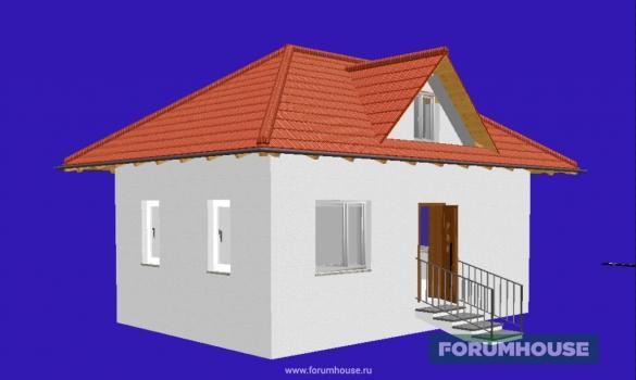 Фото визуализация дома
