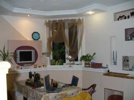 Фото интерьер в доме из несъемной опалубки