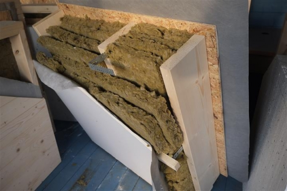 Фото утепление плитами каменной ваты в несколько слоев