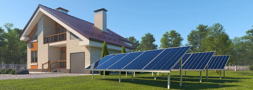 Сетевые солнечные электростанции: выгодное вложение для домовладельцев