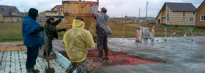 Новая добавка способна исключить ошибки при бетонных работах