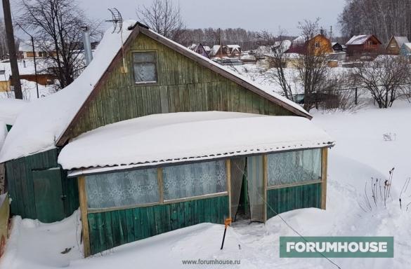 Фото дачный домик со старой верандой