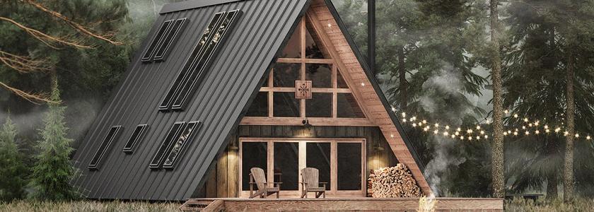 Деревянные дома будут продавать со скидкой 10%