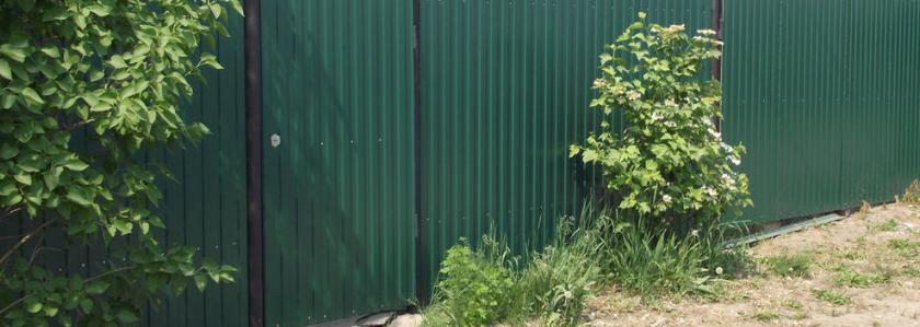 Строишь забор? Опасайся мошенников!