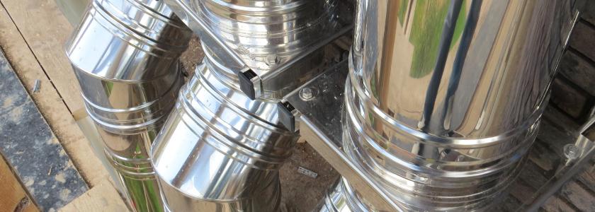 Нюансы монтажа: как правильно установить стальной дымоход