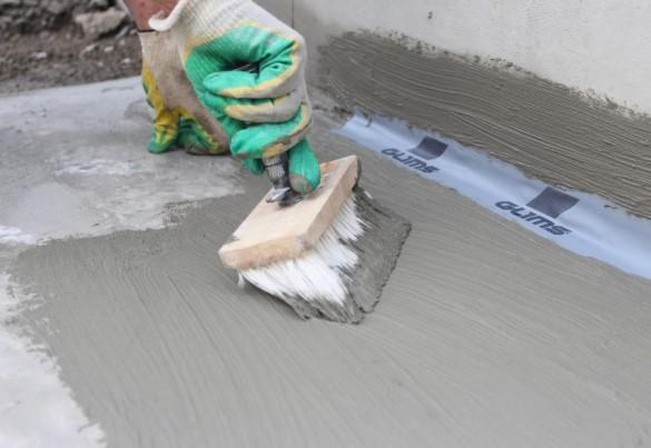 Фото цементная обмазочная гидроизоляция