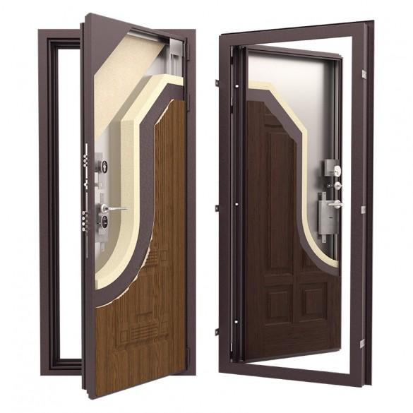 Фото конструктив стальной двери с терморазрывом