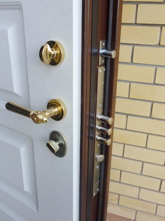 Фото входная дверь с терморазрывом