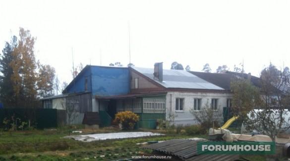 Фото дом со старой верандой