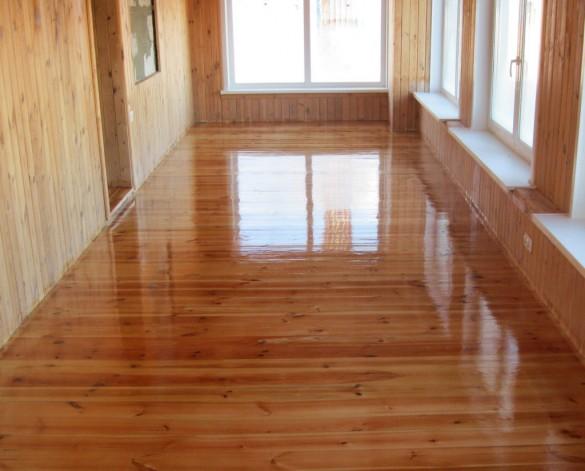 Фото деревянный пол под лаком