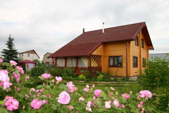Фото красивый дачный дом