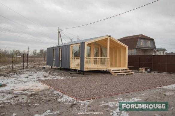 Фото модульный дом средней ценовой категории