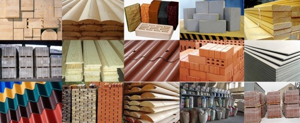Фото коллаж строительные материалы