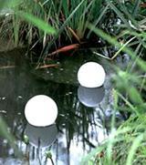 Флорида – набор из 2 плавающих круглых фонариков
