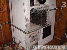 Печь с отоплением