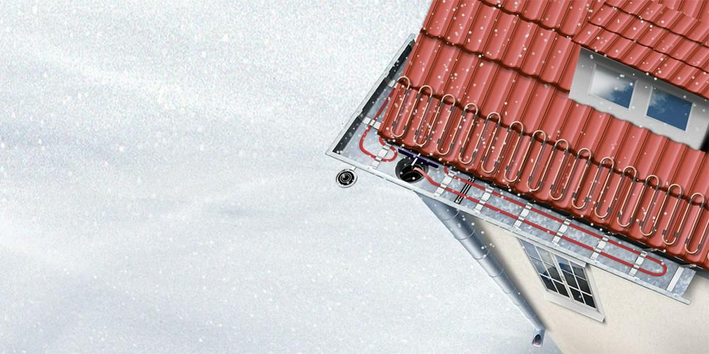 Чем обогреть крышу? Системы антиобледенения для загородного дома