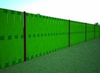 Забор из бордюрной ленты: альтернативный проект