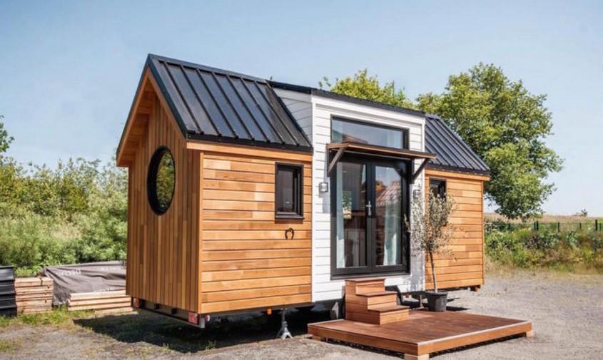 Деревянные дома на колесах – компактные и комфортные