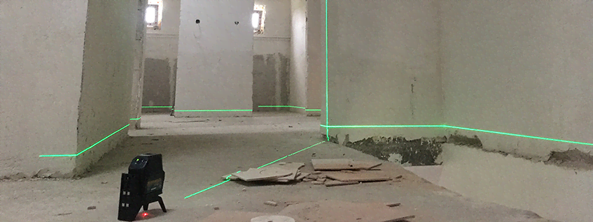 Быстро, просто, точно: лазерные нивелиры для внутренних отделочных работ