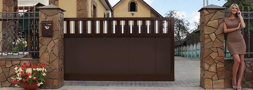 Выбор откатных ворот: основные критерии