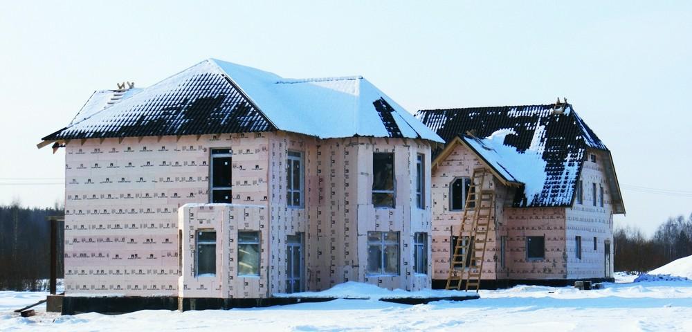 Утепление дома из газобетона экструдированным пенополистиролом