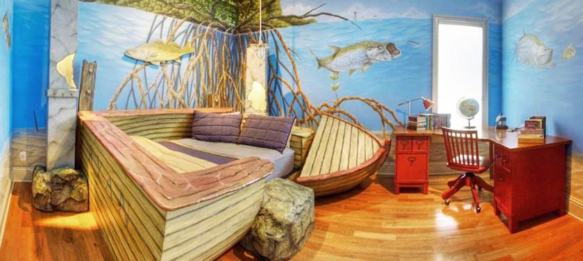 Детский уголок на даче: обустройство комнаты и площадки