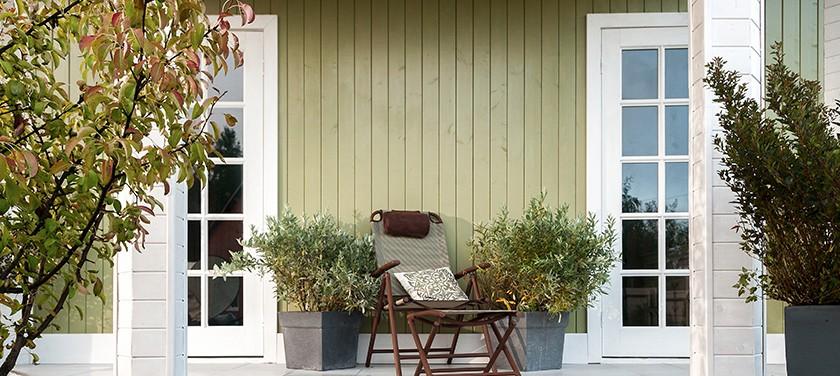 Экологичный деревянный дом без усадки – технология Naturi